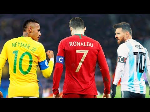 Neymar vs Cristiano Ronaldo vs Messi ● National Heros