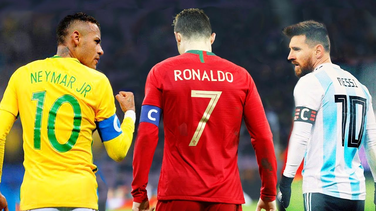 Image result for Ronaldo and Messi