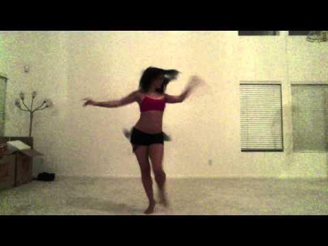 Woman Dancing To Samba Ey Macalena