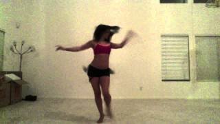 Woman Dancing To Samba Ey Macalena