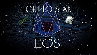 How to Stake on the EOS Blockchain