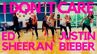 I dont care Justin Beieber Ed Sheeran NEW dance choreography Zumba