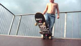 4 Year Old Skateboarder!