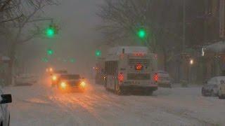 Massive winter storm slams Big Apple