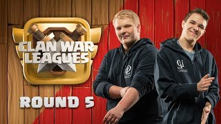 Clash of Clans UPDATE - Clan War Leagues - War Attack Strategies - Round 5