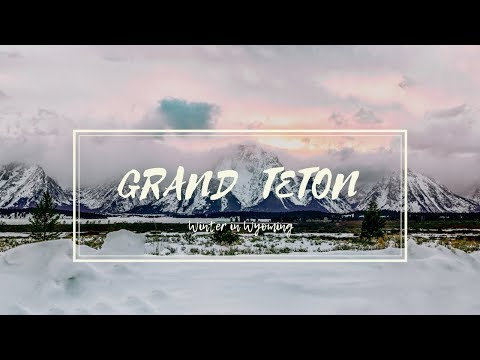 Snowy Winter Getaway in Grand Teton!