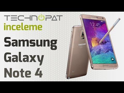 Samsung Galaxy Note 4 İncelemesi
