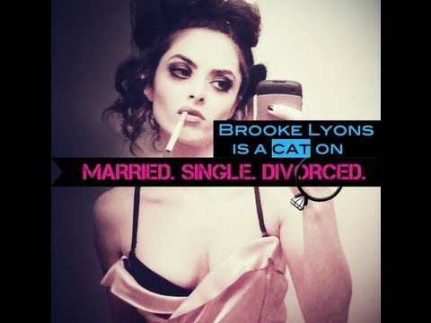 You have to earn Brooke Lyons' affection, and let her come to you. Married. Single. Divorced