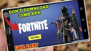 Fortnite Battle Royale Android | Fake Alert & Human Verification Required |