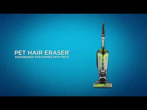 How to use the Pet Hair Eraser Upright Vacuum | BISSELL
