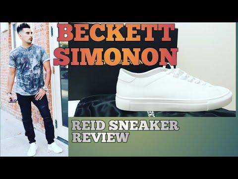 Beckett Simonon Reid Sneaker Review\ The Best all white sneaker