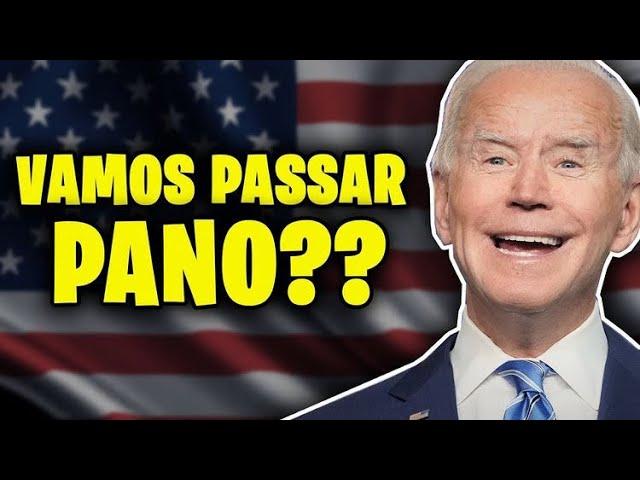FIM DA ERA TRUMP! PASSANDO PANO PARA O BIDEN?