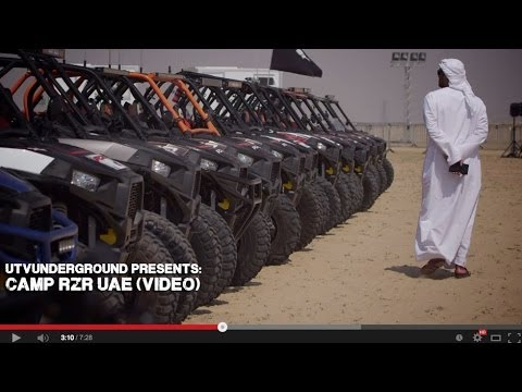 UTVUnderground Presents: 2014 Camp RZR UAE
