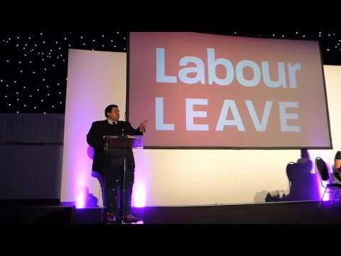 Labour Leave Referendum Speech