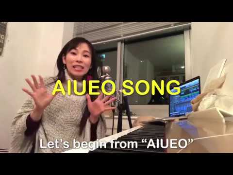 AIUEO SONG -Let's study Japanese!-