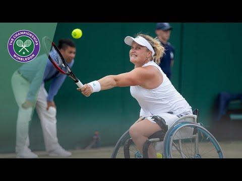 Diede De Groot vs Aniek Van Koot Wimbledon 2019 final highlights