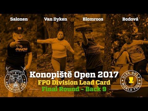 2017 Konopiště Open FPO Final Round Back 9 (Salonen, Van Dyken, Blomroos, Bodová)