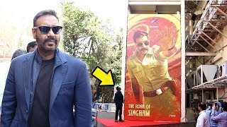 Singham 3 Movie-The Roar of Singham GRAND Poster Launch By Ajay Devgn