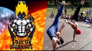 Power of ARCYWORKOUT - STREET WORKOUT (team)
