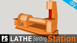Lathe Sanding Station: Belt Sander Part1