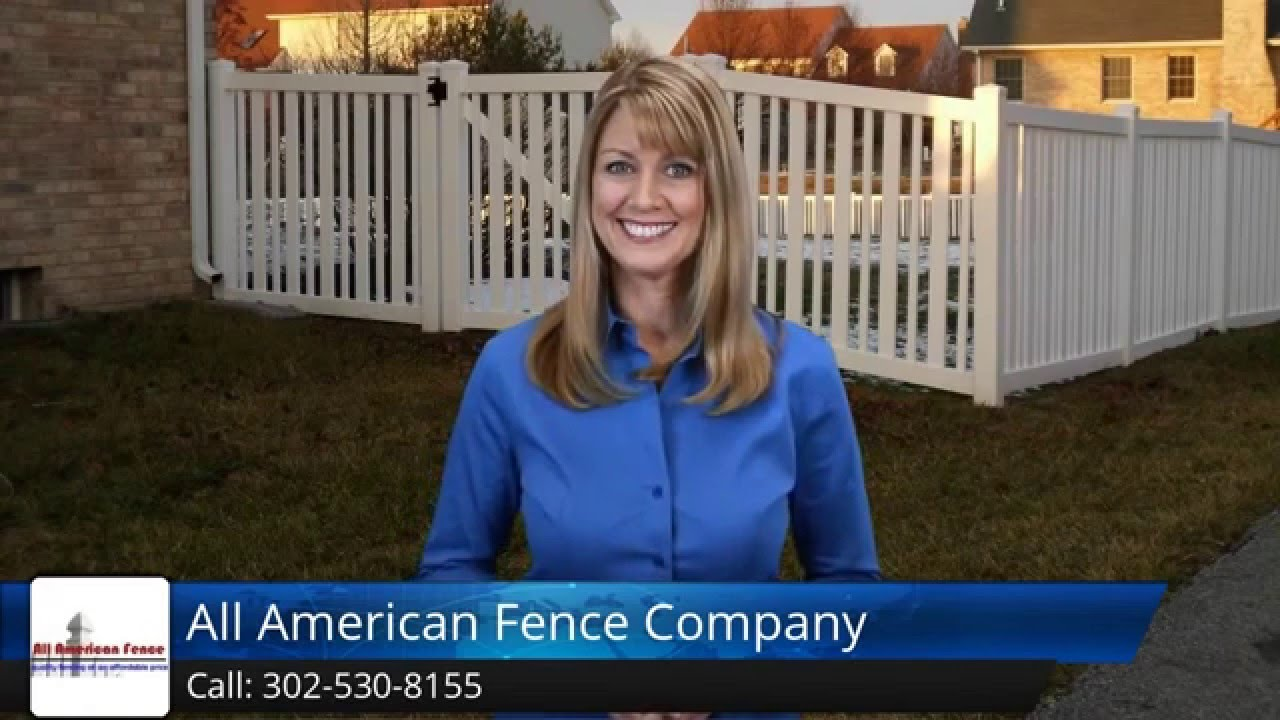 All American Fence Company Delaware Incredible Five Star Review