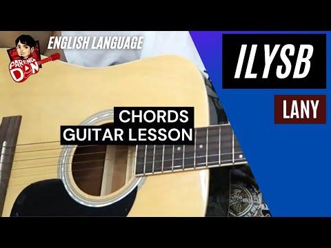 Guitar tutorial - ILYSB Chords (LANY)