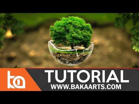 Intermediate PhotoManipulation Tutorial | The Tree Sphere