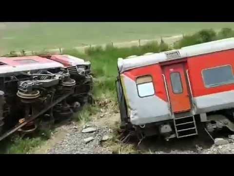 Rajadhani express accident video | train accident videos | indian railway | 99cinema
