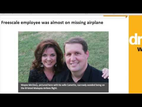 American Freescale Employee Didn't Board Malaysia Flight 370