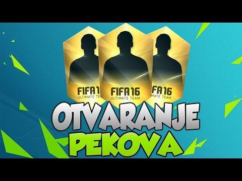 FIFA 16 | OTVARANJE PEKOVA
