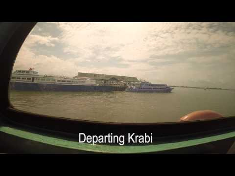 Ferry to Koh Phi Phi - Thailand