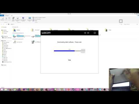 How to install wacom intuos ctl 480 การลงเม้าส์ปากกา