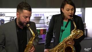 h2 saxophone quartet plays Paquito D'Rivera's A Farewell Mambo