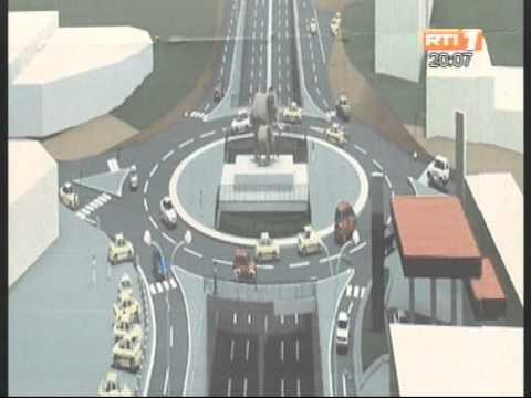 Lancement des travaux de construction de l'échangeur de la Riviera 2