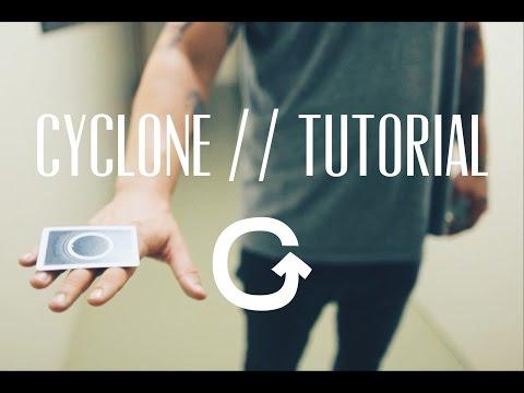 CYCLONE // TUTORIAL (Card flick & Magic trick) thumbnail