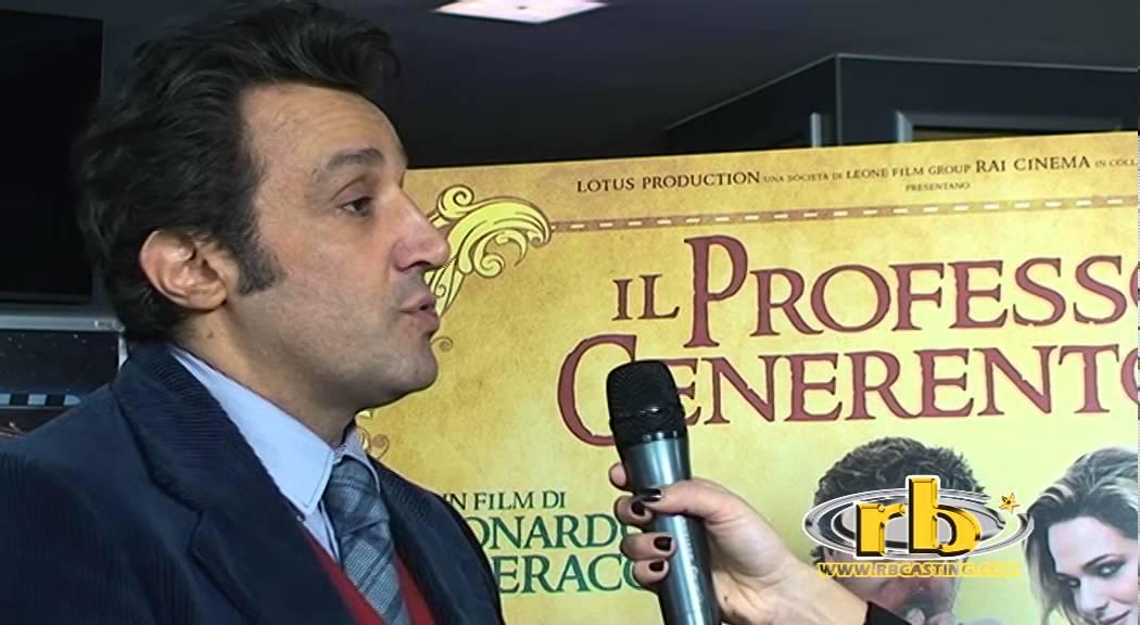 Flavio Insinna Intervista Il Professor Cenerentolo Rb