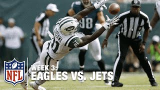 New York Jets WR Quincy Enunwa Makes the Diving Catch | Eagles vs. Jets | NFL
