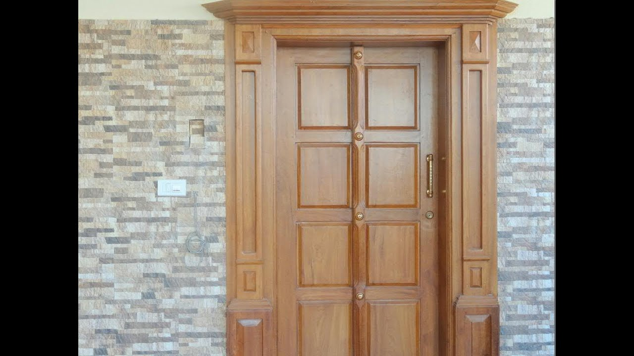 Beautiful front door for a house & Beautiful front door for a house - YouTube