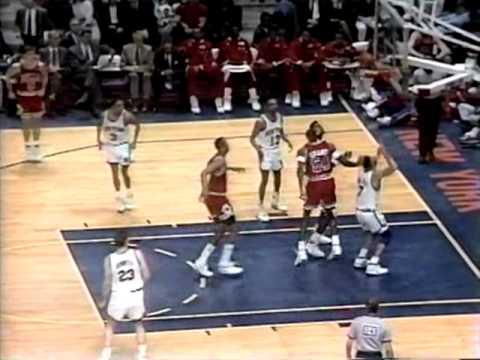 Michael Jordan: 34 pts vs Knicks 4/4/91