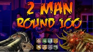 2 MAN ROUND 100 EASTER EGG ATTEMPT REVELATIONS AND MULTIPLAYER - [SUB FOR SHOUTOUT]