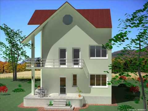 Casa ic 17 bucuresti casa cu etaj si mansarda youtube for Youtube case cu mansarda