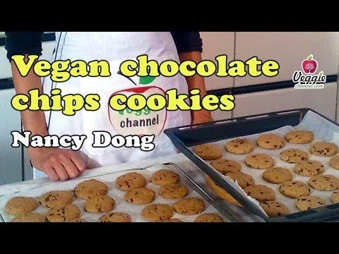 Vegan chocolate chips cookies - Nancy Dong