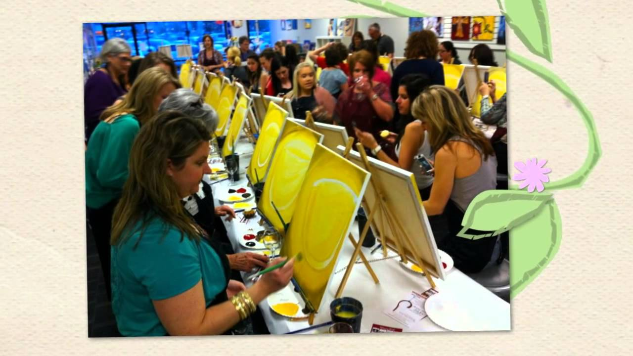 Painting With A Twist Flower Mound Unique Painting Classes In