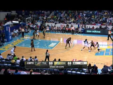 Game Recap: Tulsa Shock vs Chicago Sky