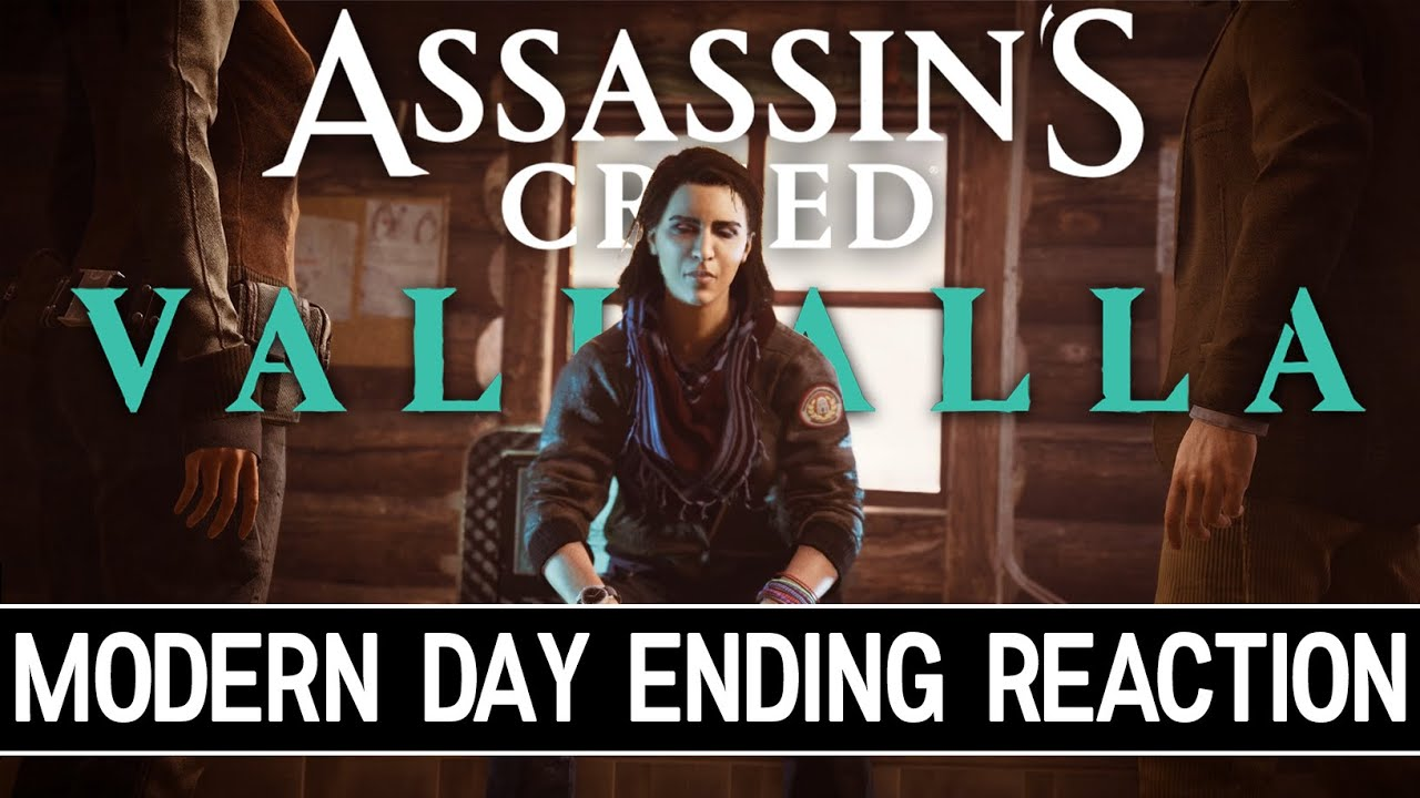 Assassin S Creed Valhalla Modern Day Ending Reaction Spoiler Warning Youtube
