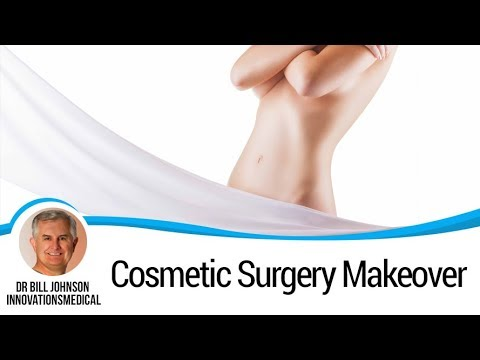 Huge Cosmetic Surgery Makeover - Reveal, Results L...