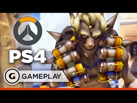 Lucio and Junkrat Bring It - Overwatch PS4 Gameplay