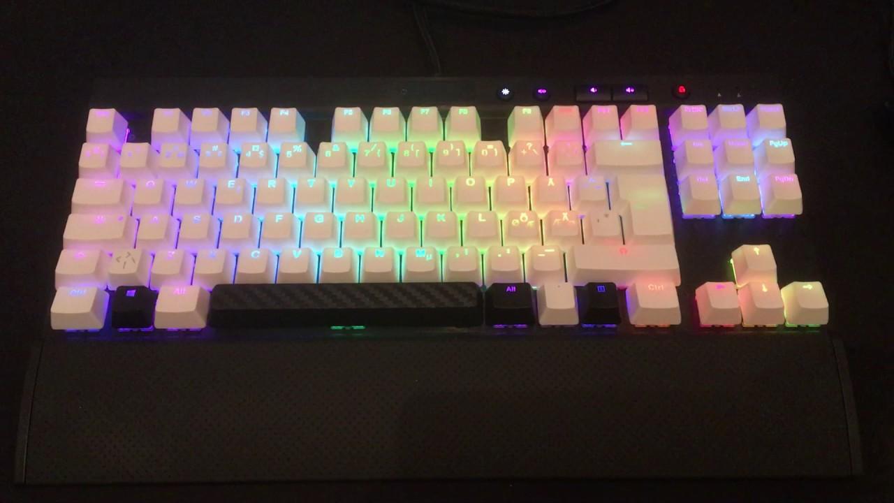 corsair k70 rgb custom keycaps