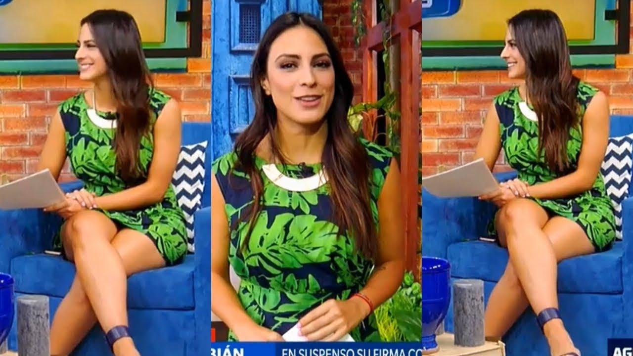 Blickfang gut verpackt Valeria Marin liebt Reiten großen Schwanz