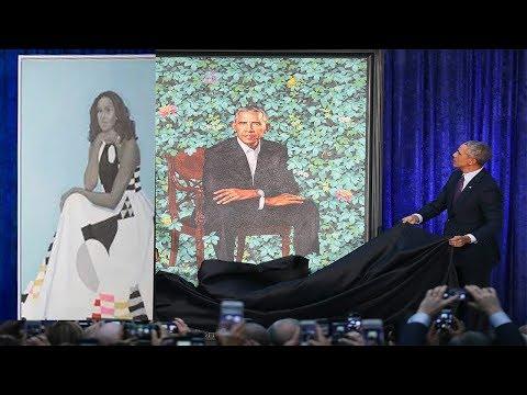 The $15,000 Detail Hidden in Obama's Official Portrait    World News Radio